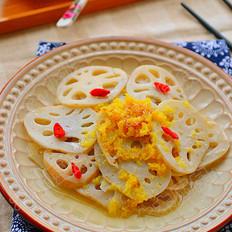 热姜汁藕片