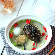 冬季一碗海参汤滋补暖和营养又健康