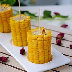 香甜烤玉米