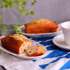 藜麦蔓越莓磅蛋糕