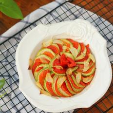 蒜片烤蔬菜