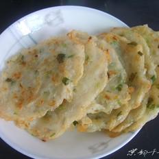 香葱土豆丝饼