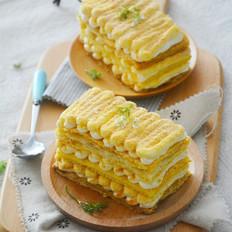 豆乳拿破仑蛋糕