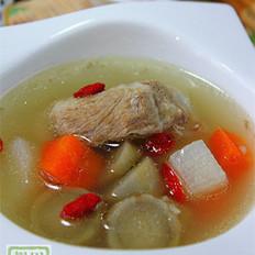 牛蒡山药排骨汤
