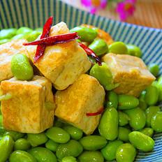 臭豆腐毛豆子