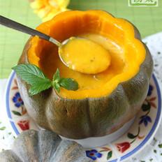 罗勒南瓜奶油汤