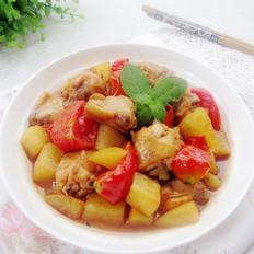 蕃茄土豆鸡块