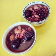 红豆薏米花生粥