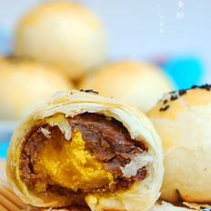 美味蛋黄酥植物油版#长帝烘焙节#