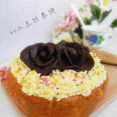 巧克力玫瑰胡萝卜蛋糕