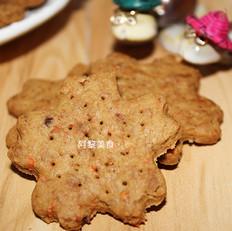 胡萝卜红糖燕麦饼干