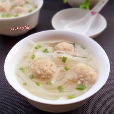 萝卜丝丸子汤