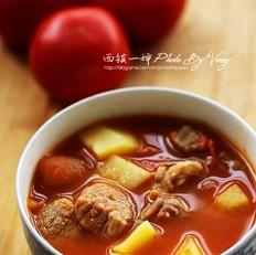西红柿牛腩煲