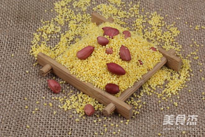 小米花生粥 准妈妈的营养粥的做法_家常小米花